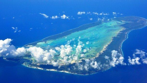 остров атолл