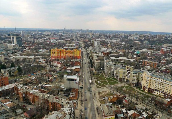 проспект в Харькове