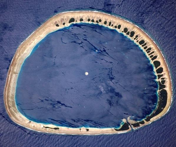 необычный остров