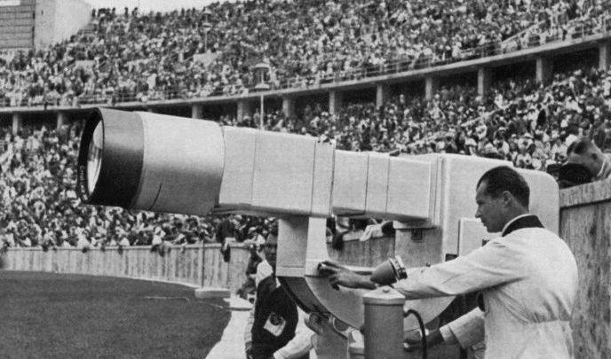 Первая трансляция Олимпийских игр