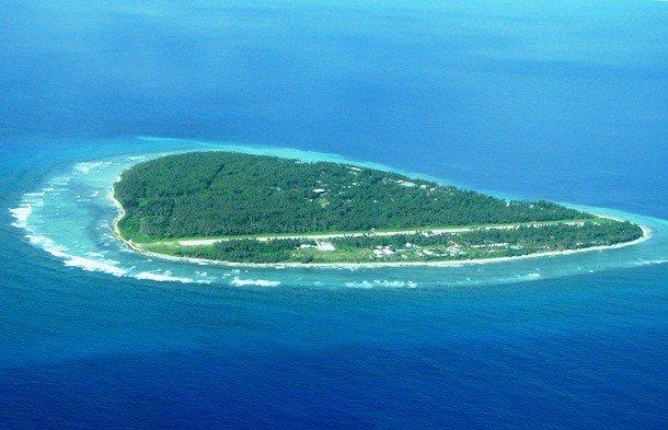 необычные острова