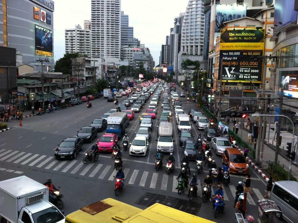 самая длинная улица Таиланда
