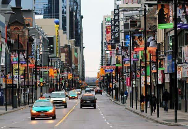 самая длинная улица в Канаде
