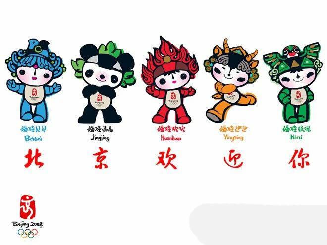 талисманы Пекинской Олимпиады