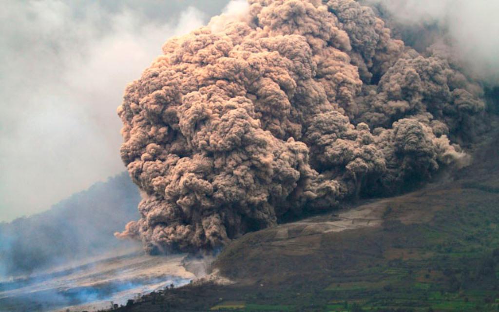 Индонезия. Гора Синабунг