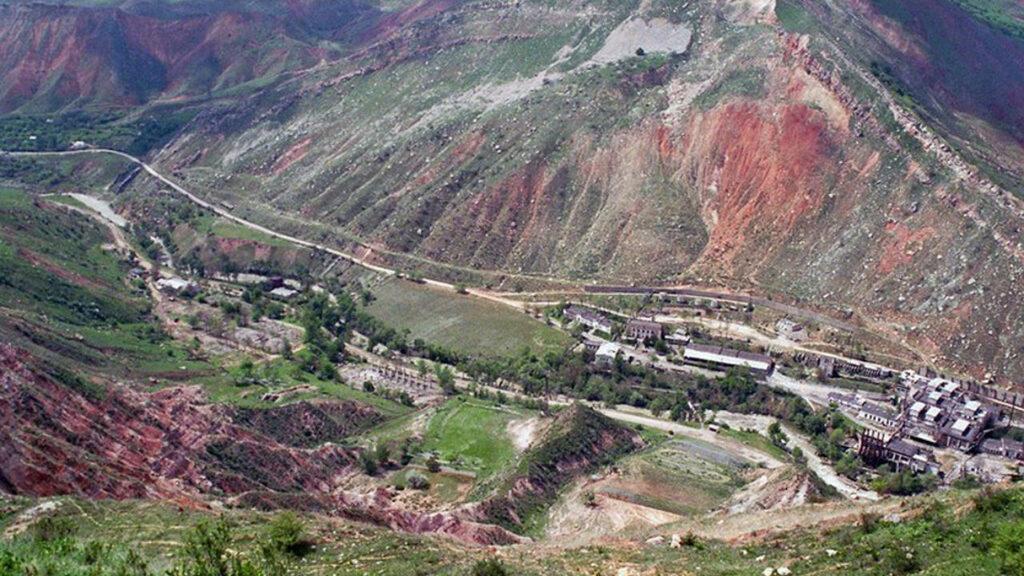 Киргизия. Майлуу-Суу