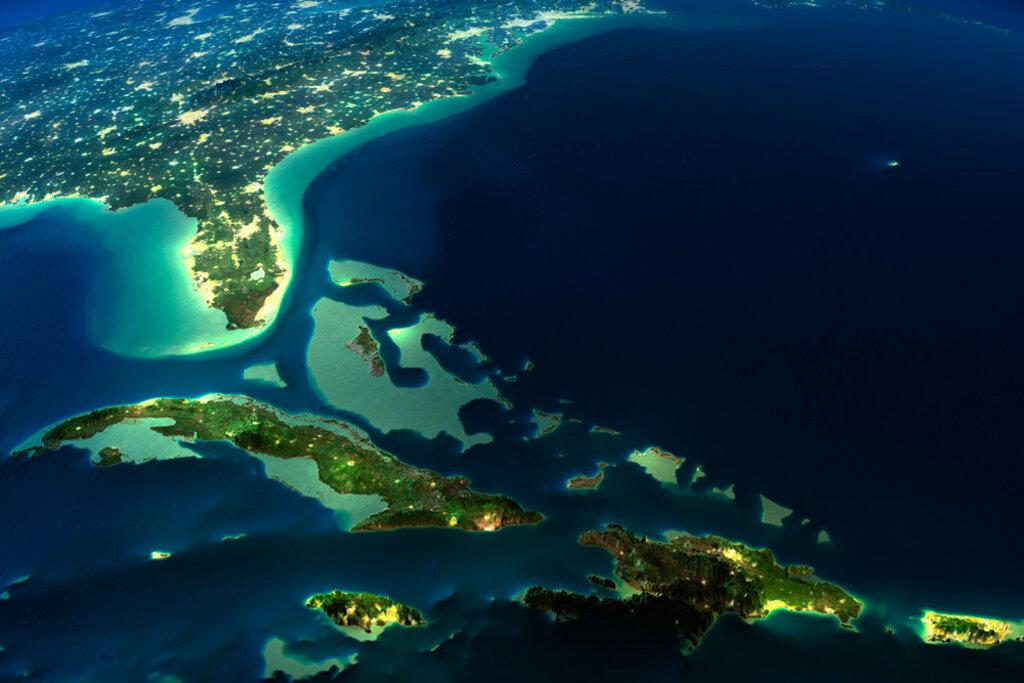Северная Атлантика. Бермудский треугольник