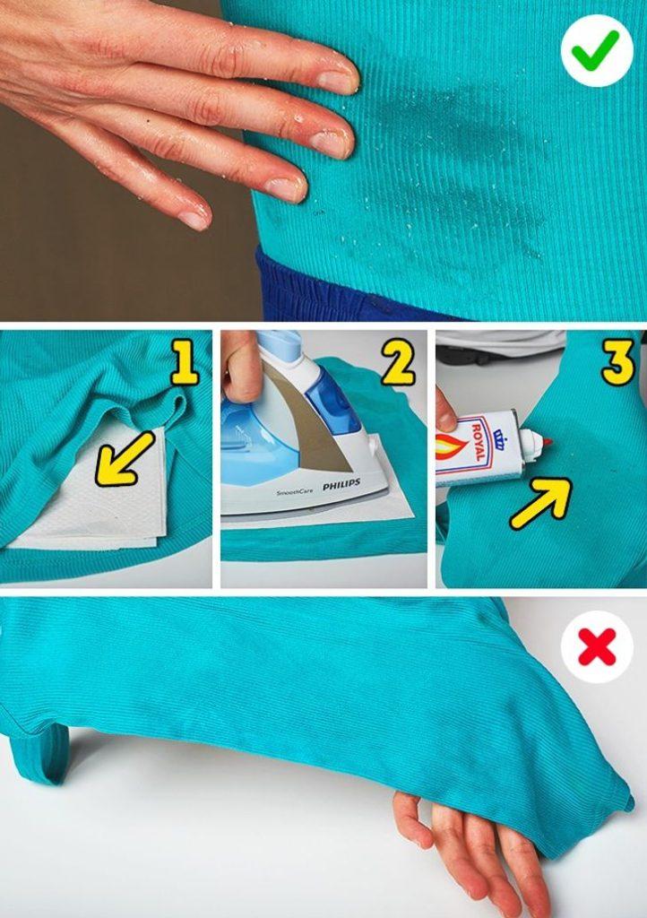 как отмыть пятна жира