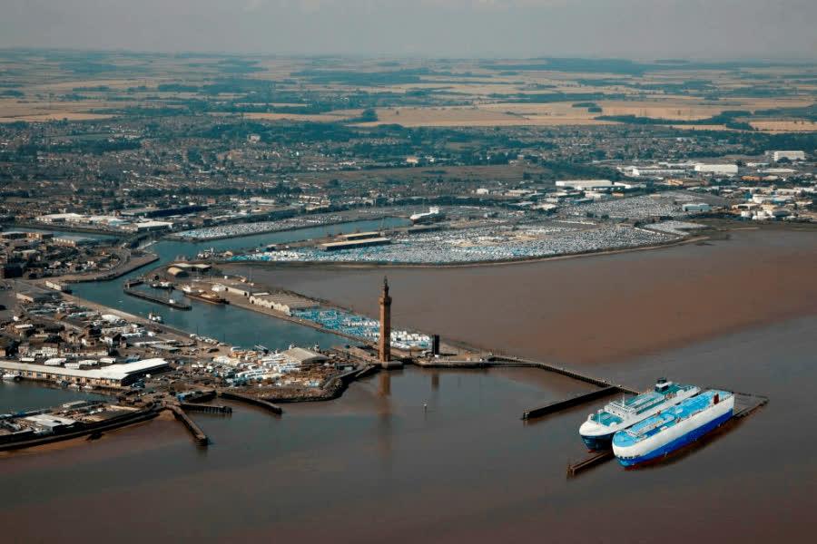 Один из самых крупных портов в Европе