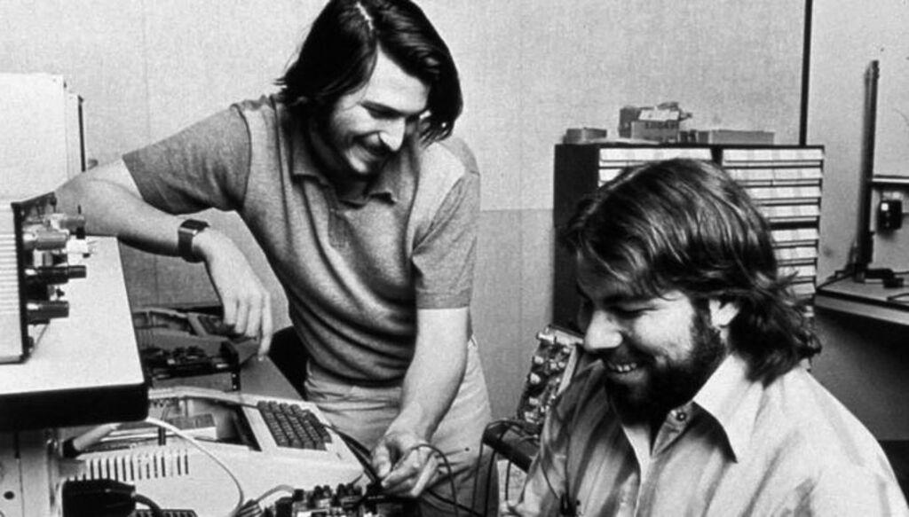 Стив Возняк и Стив Джобс