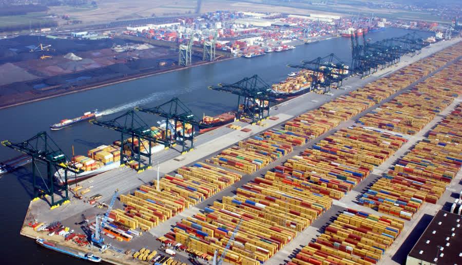 самые большие порты в мире