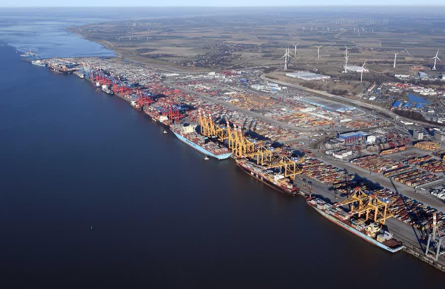 самые крупные порты в мире