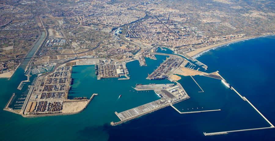 самый большой порт Валенсии