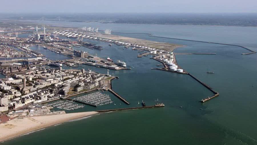 самый большой порт Гавр