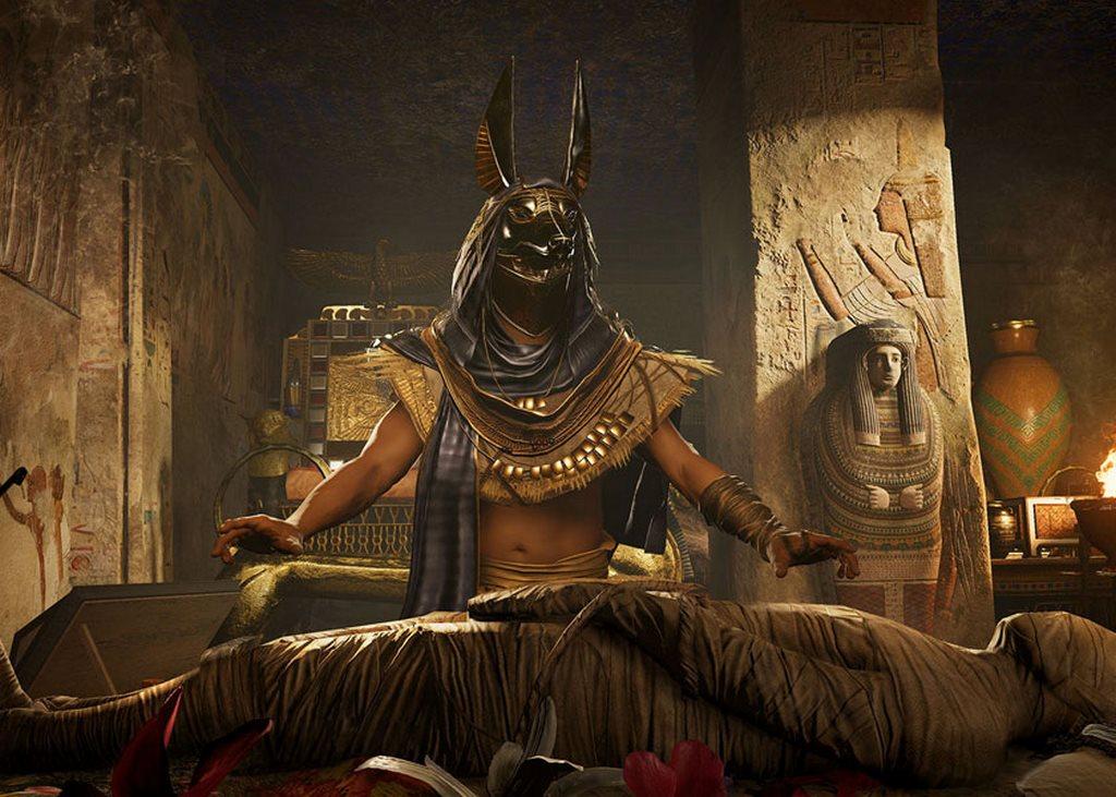 Анубис воскресил Осириса