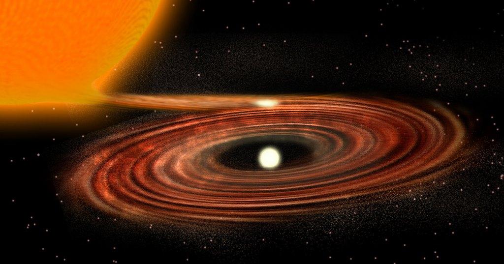 Скорость поглощения черный дыры