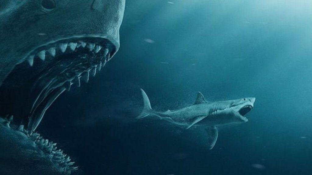 мегалодон и белая акула