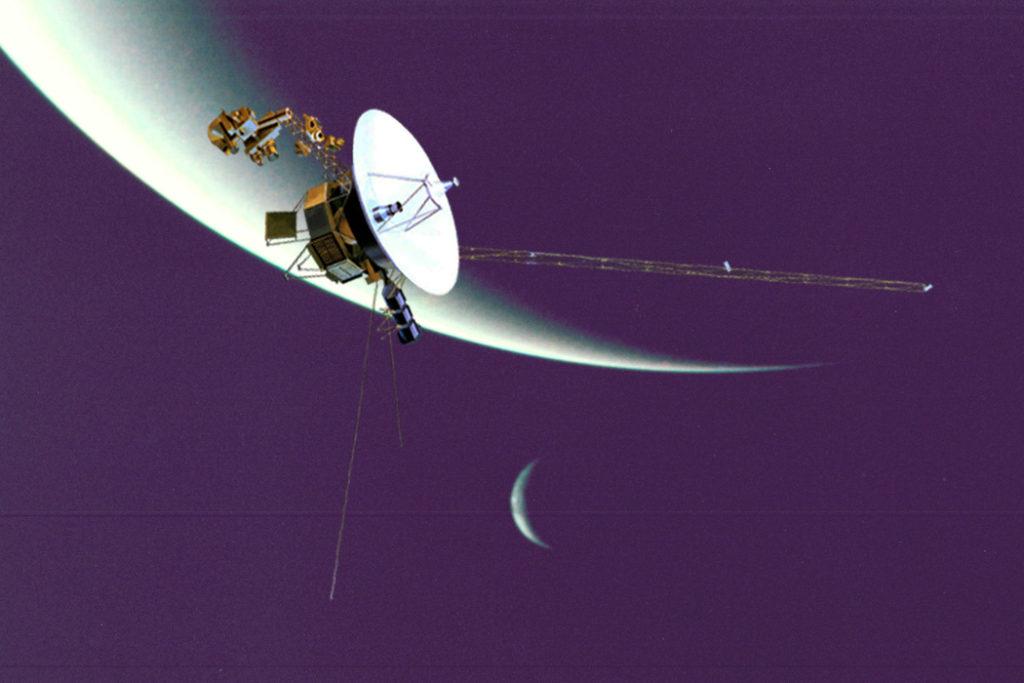 космический корабль долетел до урана