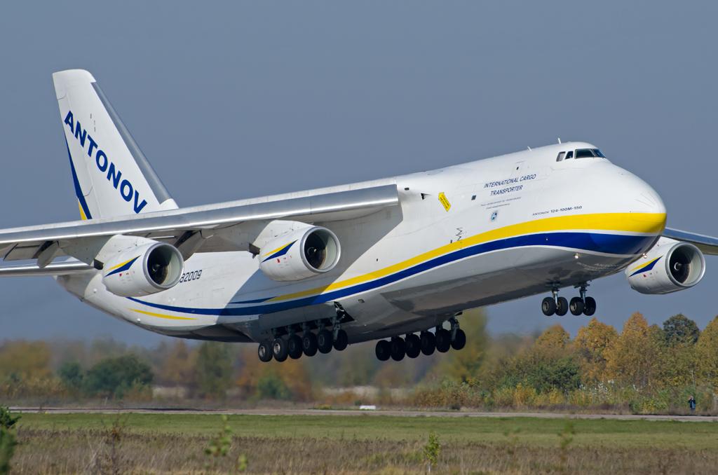 самый огромный самолет в мире