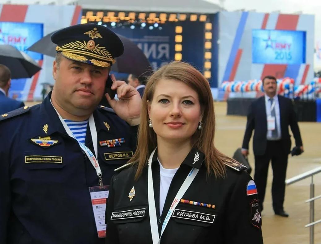 Молодая генерал России