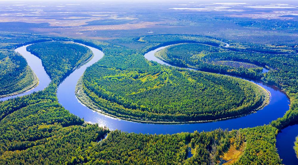 10 Самых длинных рек в России