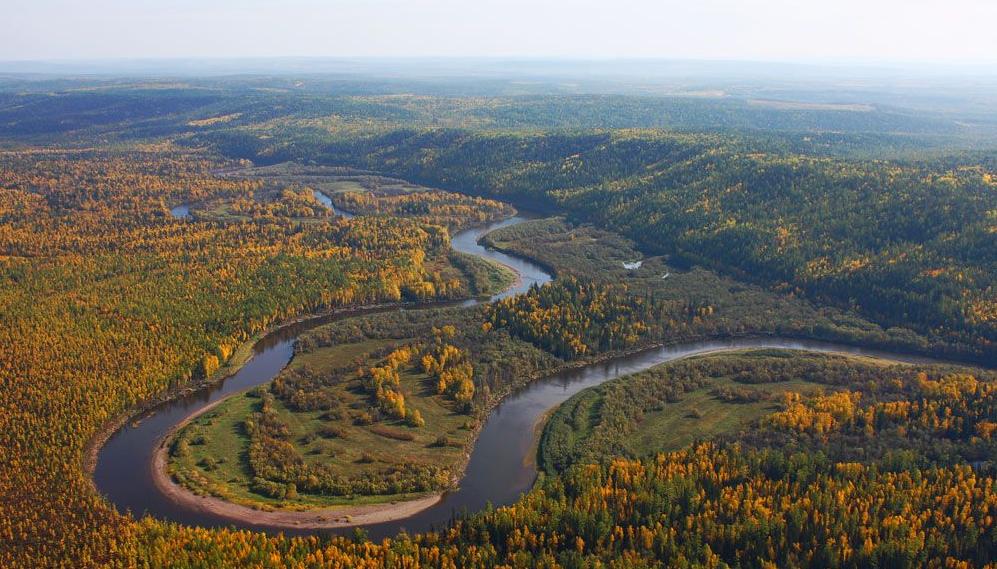 Рейтинг самых больших рек в России