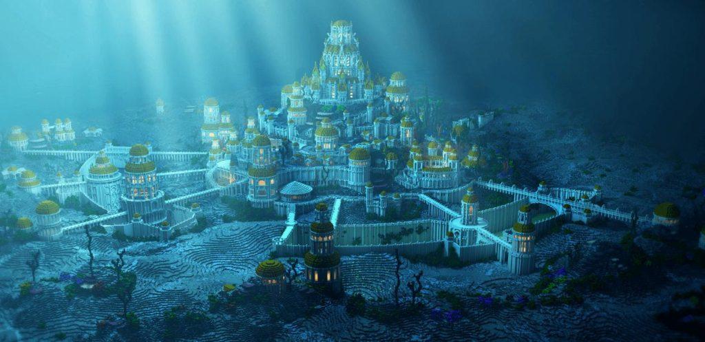 потерянный остров Атлантида