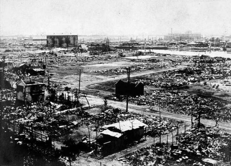 Мощнейшее землетрясение в истории Японии