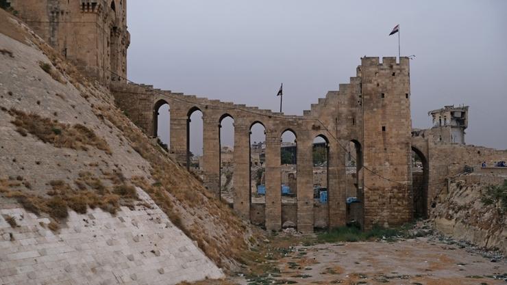 Землетрясение в Алеппо