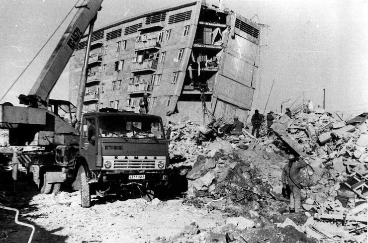 Самое страшное землетрясение в СССР