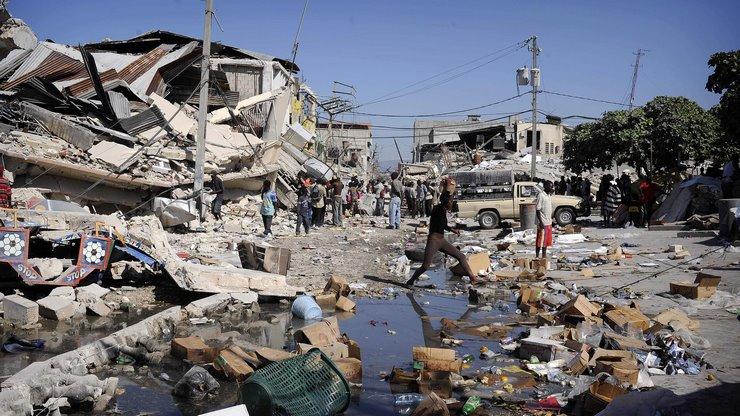Землетрясение в Гаити