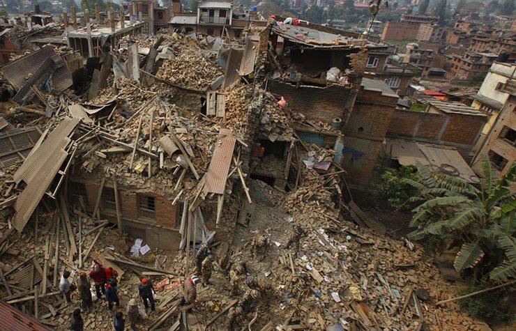 Сильнейшие землетрясения в истории человечества