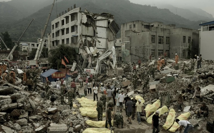 Землетрясение в Таншане