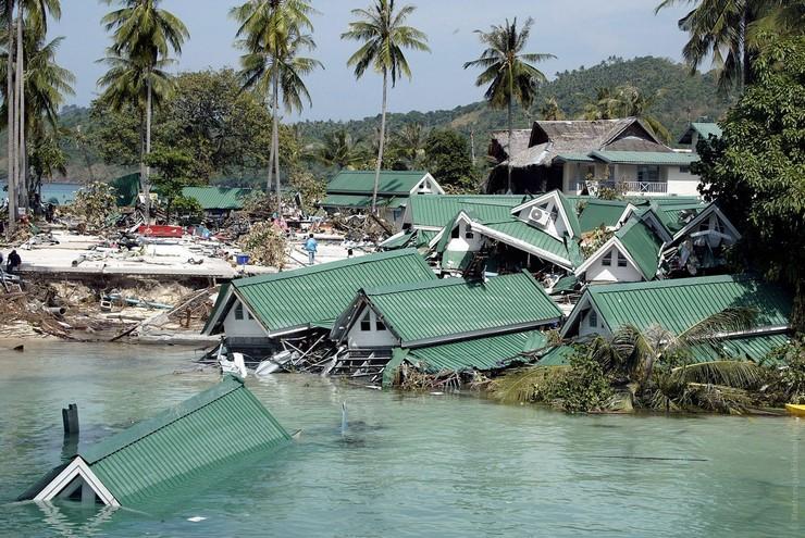 Смертоносное землетрясение в водах и прибрежной части Индийского океана