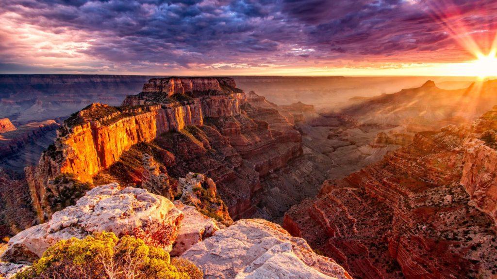 температура у гранд каньона