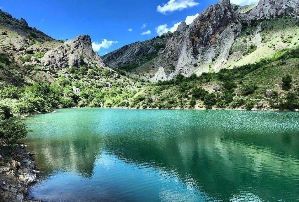 озеро панагия крым