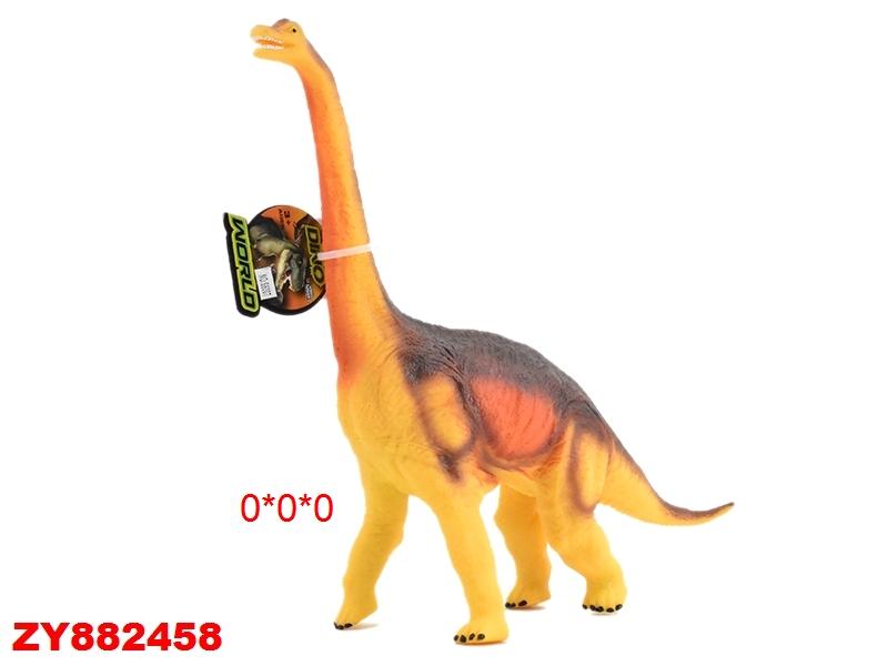 Динозавр резиновый со зв. эф.  37х32х6мм