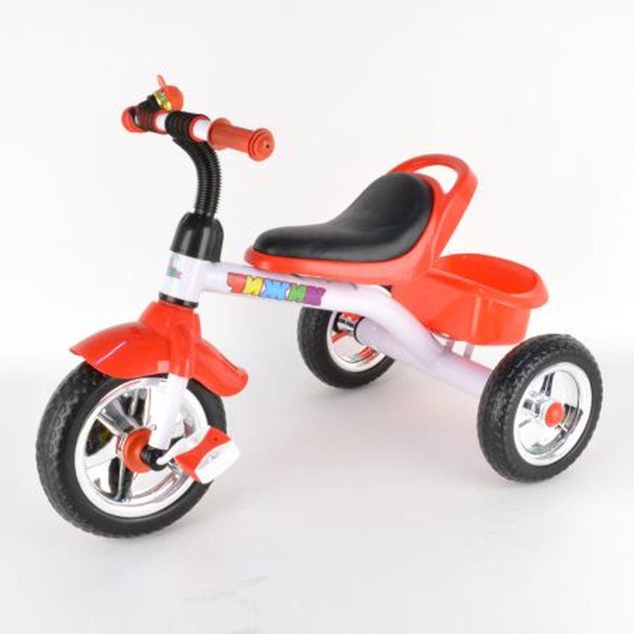 Велосипед 3-х колесный, цвет: красный