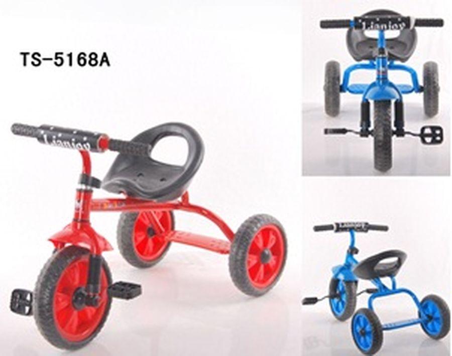 Велосипед 3-х колесный, цвет: синий