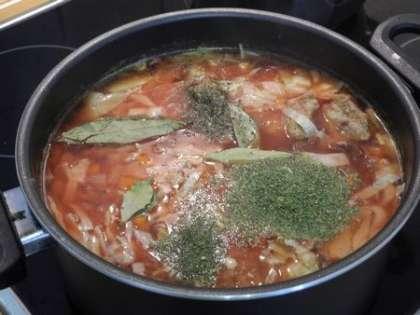 Добавить специи в суп