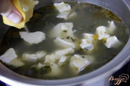 Дообавить сыр кусочками и лим.сок, если Вы готовите  со шпинатом.