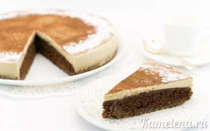 Нежнейший и ароматный кофейный торт готов.