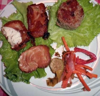 Подавать можно с овощными и мясными блюдами