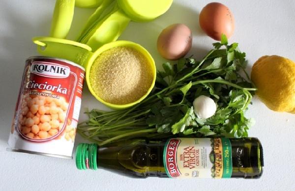подготовить нужные продукты