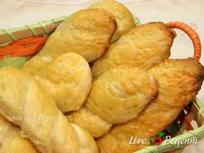 Булочки сырные с картофелем готовы!