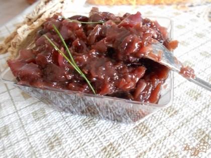 Готово! Готовый мармелад можно намазывать на хлеб или крекеры, можно использовать в сложных блюдах, подавать к мясу. Приятного аппетита!