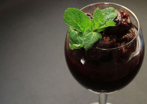 Десерт «Пьяная ягода». Zepter