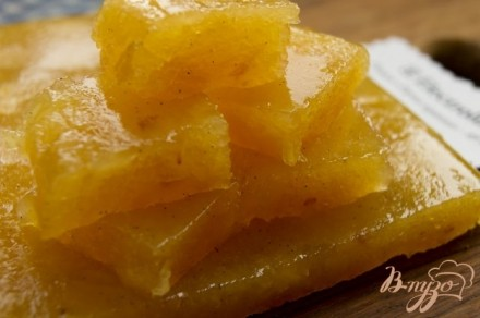 Айвовый мармелад с натуральной ванилью