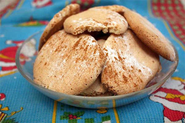 Миндальное печенье с рисовой мукой