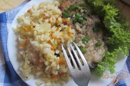 Рисовый гарнир к рыбе